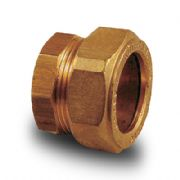 Brass Compression Plumbing Fittings - Stop End 8mm - 28mm